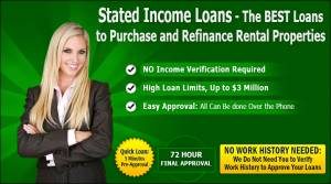Stated Income Loans - Where to Get Them