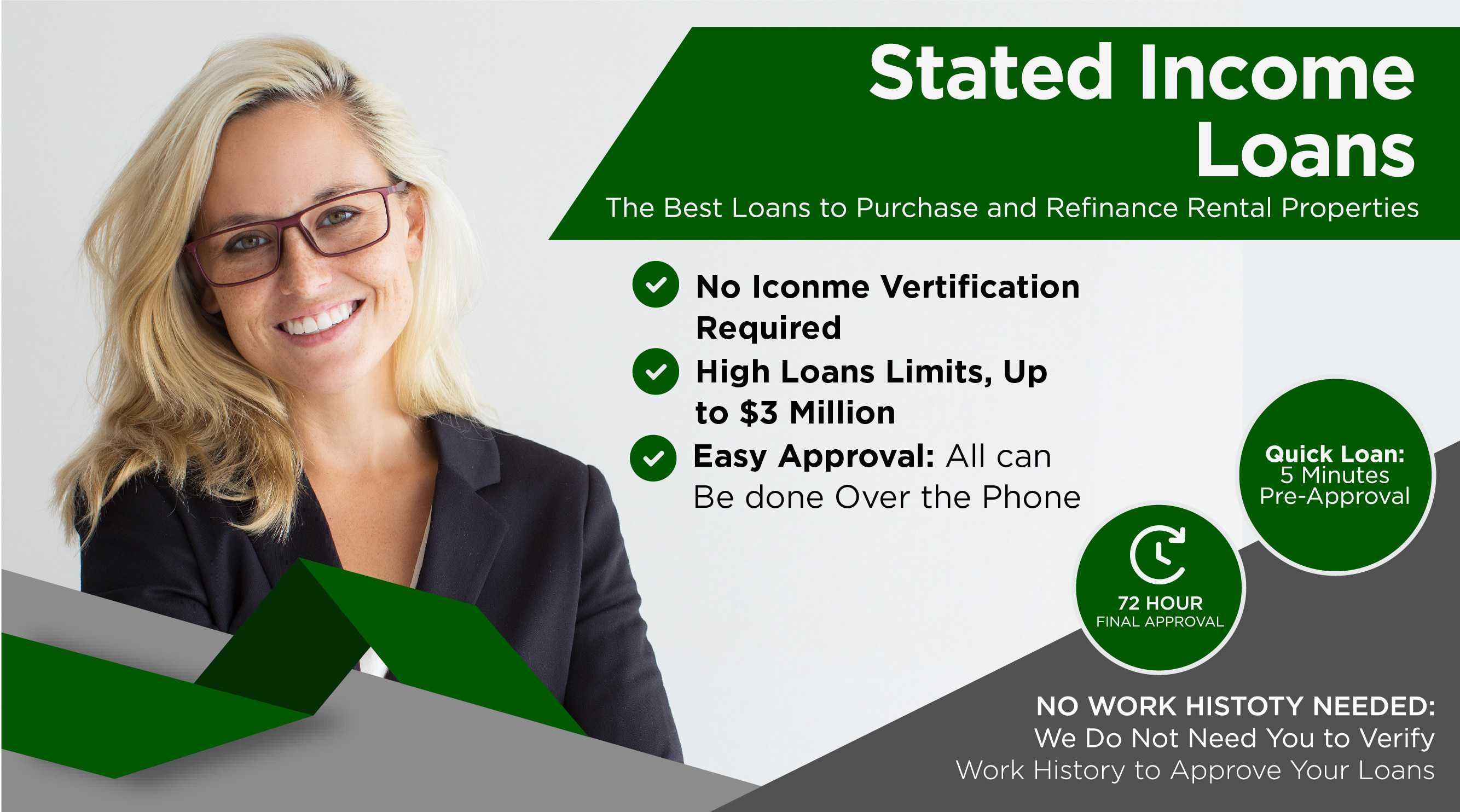 stated income loans no income verification